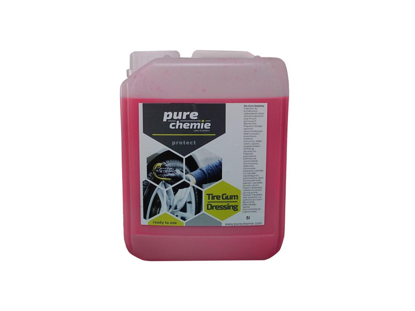 Pure Chemie Tire Gum Dressing 5L (Dressing do opon) - GRUBYGARAGE - Sklep Tuningowy